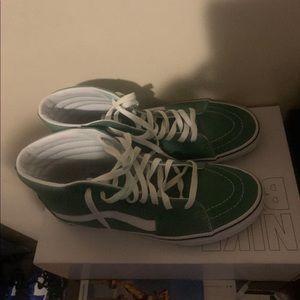 """Green """"Vans"""""""